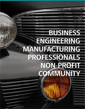 Serving Business, Engineering, Manufacturing, Professionals, Non-Profit